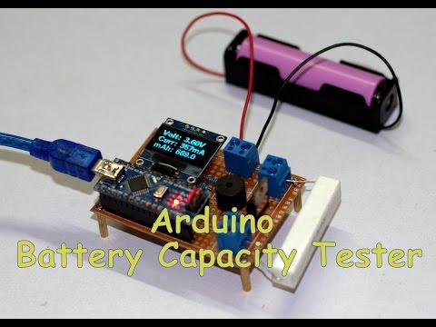 DIY Arduino Battery Capacity Tester V1.0