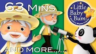 Aiken Drum | Plus Lots More Nursery Rhymes | 63 Minutes Compilation from LittleBabyBum!