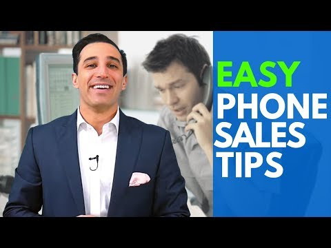 9 Really Easy Phone Sales Tips