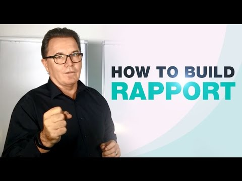 How To Build Rapport