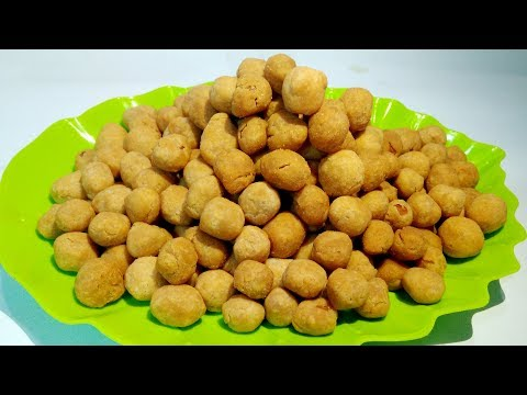 Resep Kacang Telur - Cara Membuat Kacang Atom