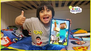 What's on my iPad with Ryan! Minecraft, Tag with Ryan and kid games!