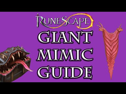 Runescape The Giant Mimic Rises - Treasure Hunter