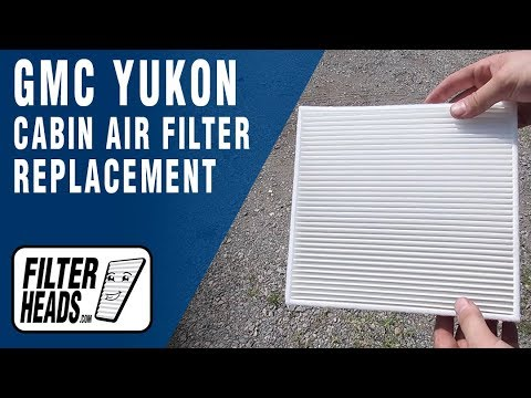 How to Replace Cabin Air Filter 2015 GMC Yukon