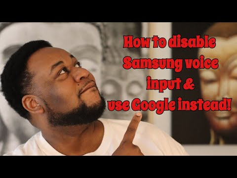 How to disable Samsung voice input and enable Google voice input on your Galaxy S8 or S8 Plus