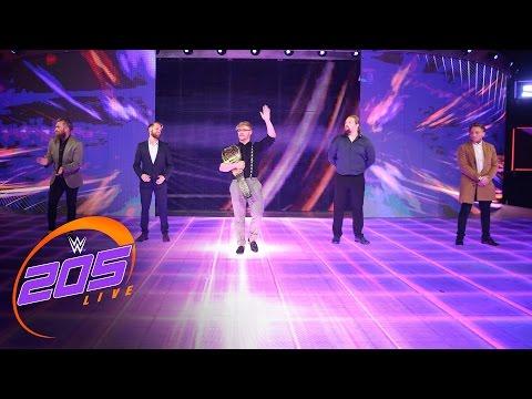 The stars of the United Kingdom Tournament come to WWE 205 Live: WWE 205 Live, April 4, 2017