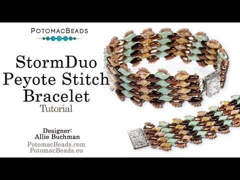 StormDuo Peyote Stitch - Tutorial