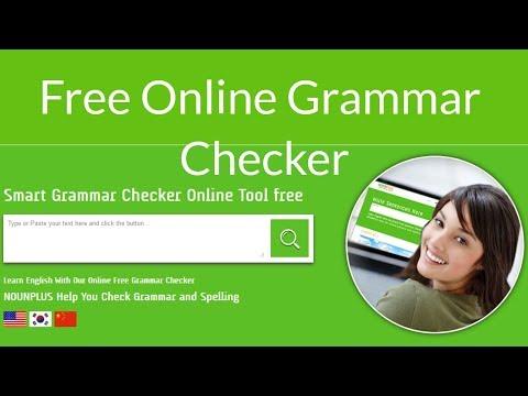 NounPlus: Free Online Grammar Checker (Grammarly Altranative 2018)