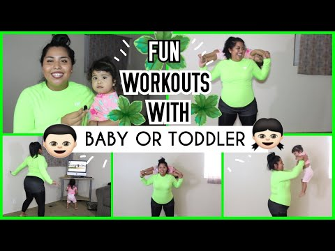 WORKOUTS WITH TODDLER | MOMMY WORKOUTS