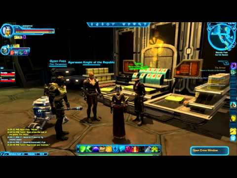 Let's Play - Star Wars: The Old Republic - Part 26 - Immediate Amenities