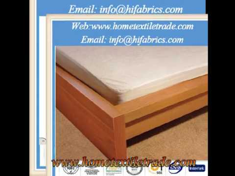 80Cotton20Polyester Terry Cloth Material Waterproof Mattress Cover