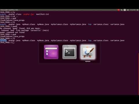Creating Executable JAR File and Executing Individual Classes
