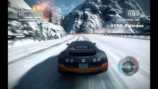 Need for Speed The Run Avalanche Race(Summit,Independence Pass)(Bugatti Veyron Super Sport)