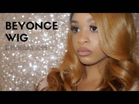 How To get Beyonce Inspired hair with Affordable Lace Front Wig || Ariie Mariie