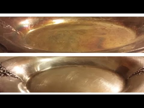 How To Clean Silver At Home, Clean, Polish And Restore. Bar Keepers Friend.