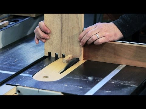 How to Make a Box Joint | Woodworking