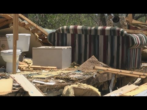 Why did NWS issue warning for large Hill Country tornado?