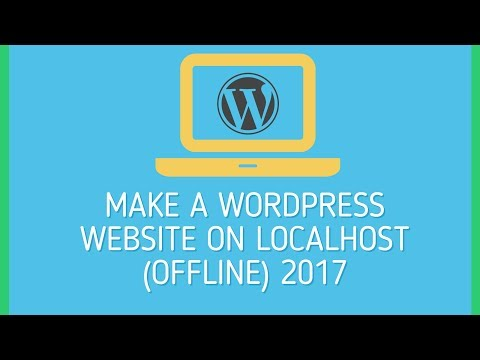 HOW TO MAKE WORDPRESS WEBSITE ON LOCALHOST OFFLINE