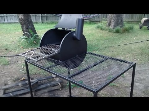 Bbq pit from a water heater
