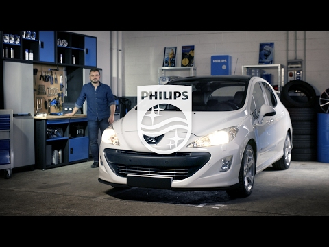 How to replace headlight bulbs on your Peugeot 308 - Philips automotive lighting