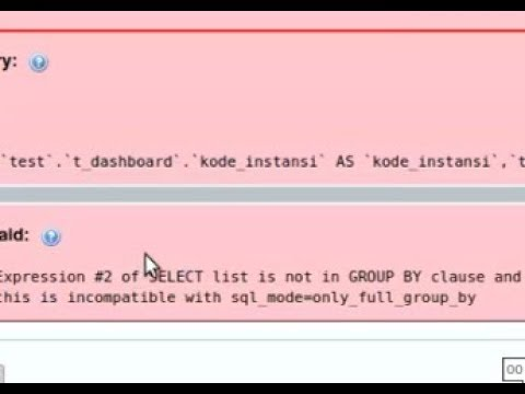 Mysql error - this is incompatible with sql_mode=only_full_group_by