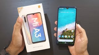 Mi A3 Android One Smartphone Unboxing & Overview