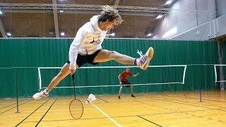 Badminton Trick Shots