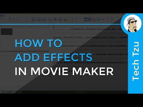 How to add Effects in Movie Maker