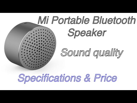 MI PORTABLE BLUETOOTH SPEAKER REVIEW AND UNBOXING .
