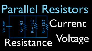 Download Resistors in Parallel: Calculating Voltage, Resistance and Current (3 of 16) Video