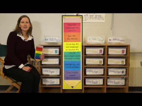 Technology, Games and Manipulatives: Math Centers (Virtual Tour)