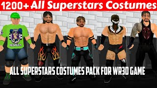 How To Download All WWE Costumes Pack For WWE 2K19 Mod WR3D Wrestling Revolution 3D Game