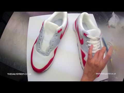 Nike Air Max 1 Sneaker Cake (making of)