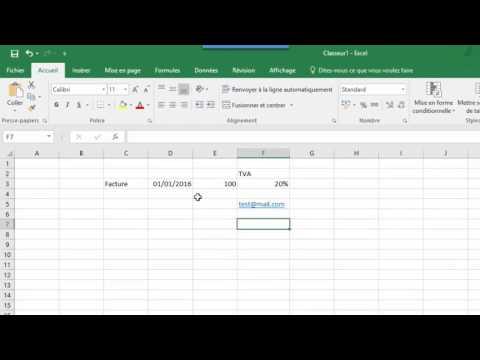 Operations mathématiques de base dans Excel