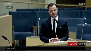 Adam Marttinen (SD) - Pinsamheten i Sveriges riksdag personifierad, Linda Snecker.