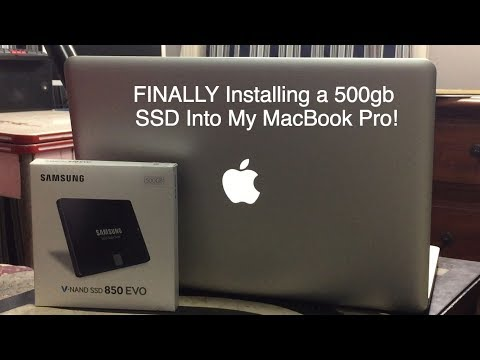Installing an SSD into the Late 2011 MacBook Pro!