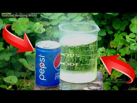 Pepsi Can Vs Acid (Hydrochloric Acid) l Science Experiment l Most Satisfying Video