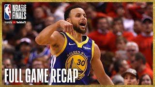 Download WARRIORS vs RAPTORS | Unbelievable Finish at Scotiabank Arena | NBA Finals Game 5 Video