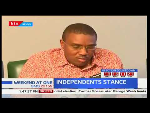 A section of Mt Kenya region leaders call for dialogue to end anti-IEBC demos