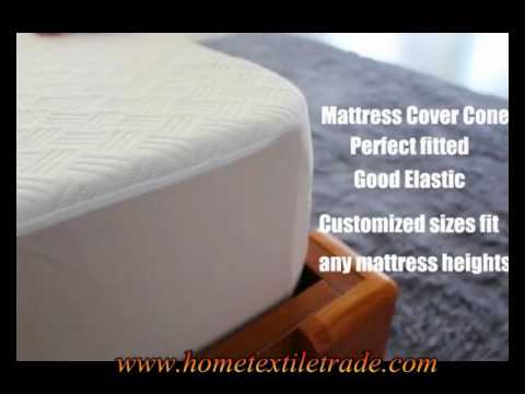 New Arrival Premium Hotel Terry Fabric Mattress Protector Waterproof