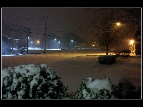 First real snow of 2013 - Syracuse NY 11-23-2013