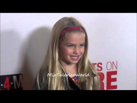 Mia Talerico And Good Luck Charlie Cast At The Pants On Fire Disney X