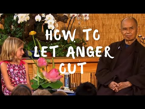 How to let anger out?
