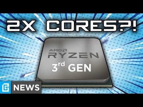 3rd Gen Ryzen Getting 2X Core Count, HUGE Performance Increase?!