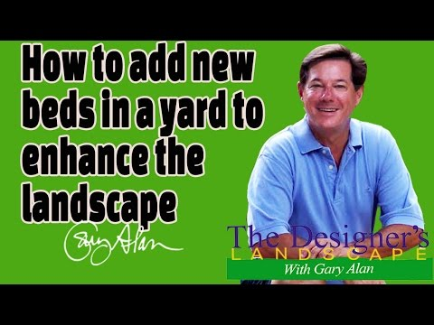 How to add new flower beds to enhance a yard Designers Landscape#603