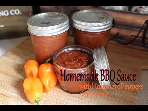 Homemade BBQ Sauce (Habanero)