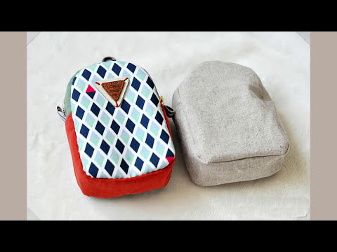 Shine Sewing Tutorial Mini Back Pack Coin Purse