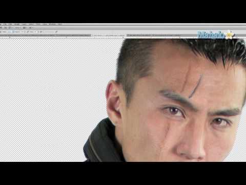 Photoshop Tutorial - Add a Scar