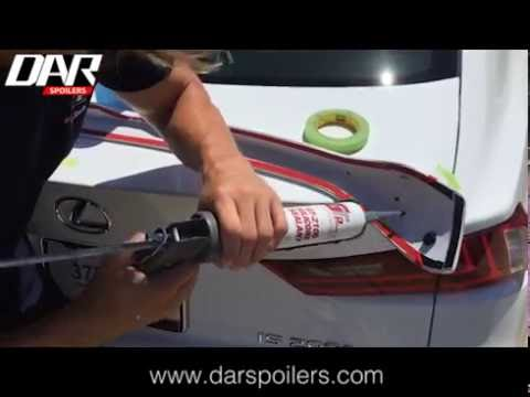 How to Install a No Drill Spoiler from DAR Spoilers