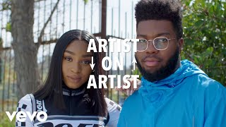 Normani, Khalid - Khalid & Normani Talk Love Lies, OTW, and Normani
